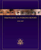 Trafficking in Persons Report - 2007 (Photo: State Dept.)