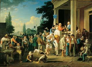 喬治‧賓漢(1811-1879)《郡選舉》,1852年